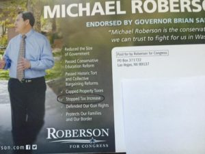 ROBERSON MAILER