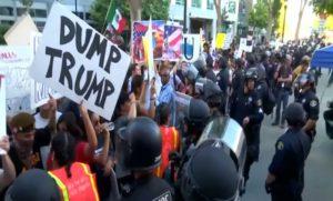 anti-trump-demonstrators-clash-police