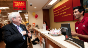 WELLS FARGO STOPS ACCEPTING CASH DEPOSITS FOR BIZ ACCOUNTS