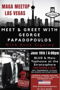 TRUMP VEGAS MAGA EVENT WITH George Papadopoulos June 19th